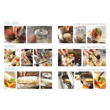 "Vaporiera ""Naturalmente"" 6 tecniche di cottura lt. 8"