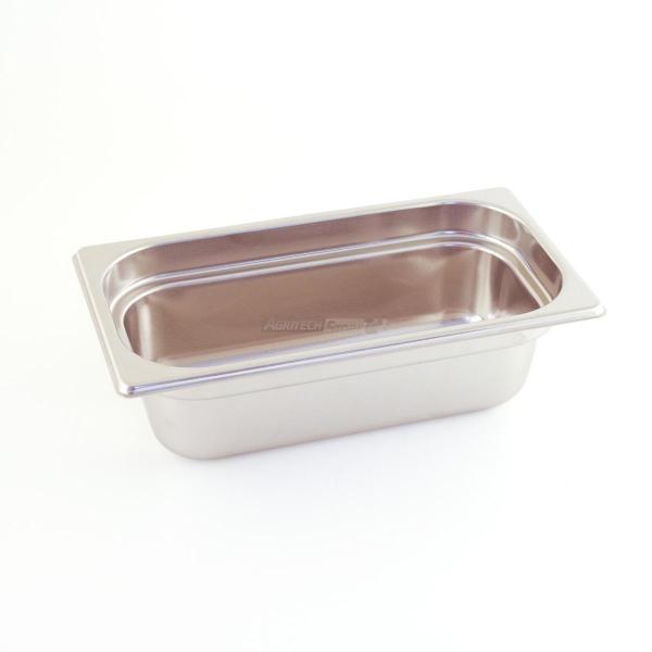 Vasca Inox Gastronorm 1/3 H 100
