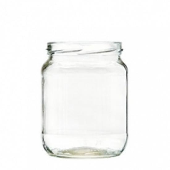 Vaso Vetro Per Alimentari Gr 580 Chiusura To 82 Mm