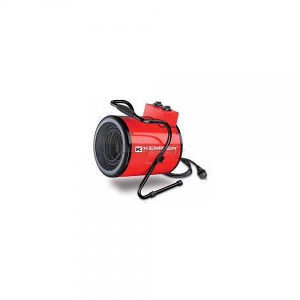 Ventilatore elettrico industriale 3000W rosso Kemper