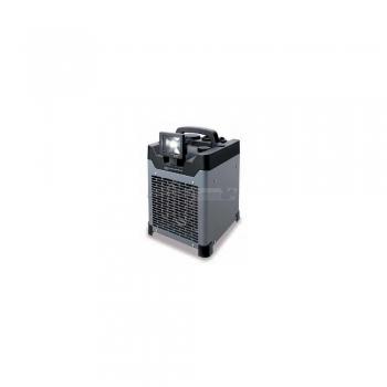 Ventilatore elettrico industriale 3300W con faro LED grigio antracite Kemper